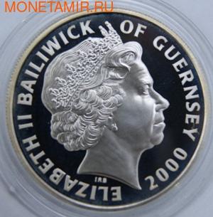 Столетие Монархии. Гернси 5 фунтов 2000. (фото, вид 1)