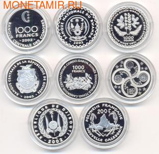 """Набор монет """"Французские колонии"""" (фото, вид 1)"""