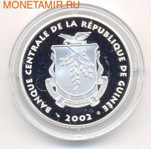 Идол. Гвинея 2000 франков 2002. (фото, вид 1)