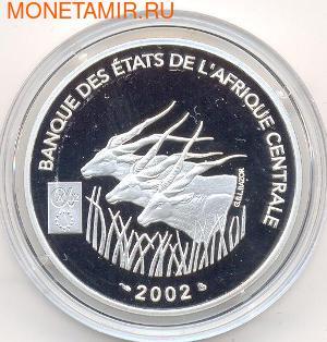 Центральный Африканский Союз 1000 франков 2002.Арт.000280042351/60 (фото, вид 1)