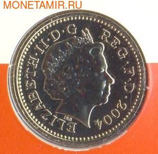 Великобритания 1 фунт 2004. Исследуя Ферт-оф-Форт . Четвертый мост. (фото, вид 1)