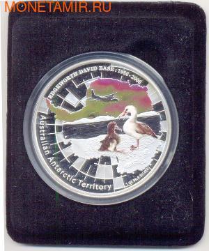 Австралийские Антарктические территории: Альбатрос. Австралия 1 доллар 2006. (фото, вид 2)