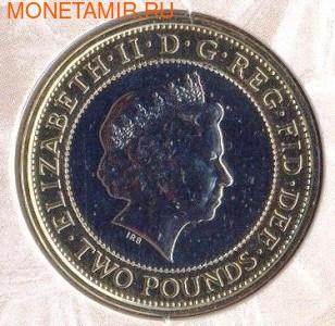 Великобритания 2 фунта 2007.200 лет отмены работорговли в Британской Империи.Арт.000023141688/25P (фото, вид 2)