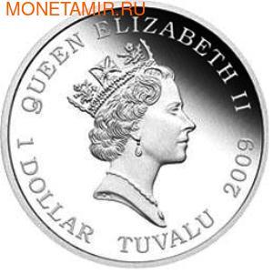 Тувалу 1 доллар 2009. Кукла Барби (фото, вид 2)