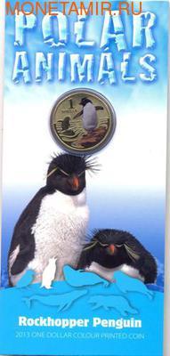 Серия «Полярные животные». Хохлатый пингвин. (фото, вид 2)