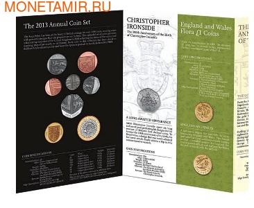 Великобритания Полный Годовой Набор 2013 (The 2013 UK Brilliant Uncirculated Annual Coin Set).Арт.60 (фото, вид 1)
