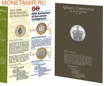 Великобритания Полный Годовой Набор 2013 (The 2013 UK Brilliant Uncirculated Annual Coin Set).Арт.60 (фото, вид 2)