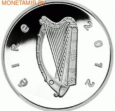 Ирландия 15 евро 2012. Ирландский волкодав . Ирландия 15 евро 2012. (фото, вид 1)