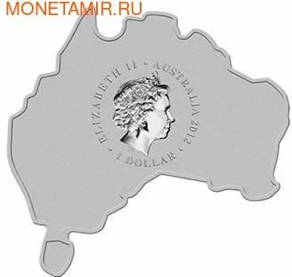 Материк. Кукабара. Австралия 1 доллар 2012. (фото, вид 1)