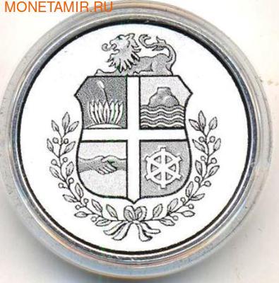 Сова Сохо - национальный символ Арубы. Аруба 5 флоринов 2012. (фото, вид 1)