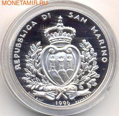 Волки. Сан-Марино 10 000 лир 1996. (фото, вид 1)