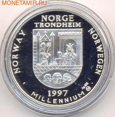 Лиса. Норвегия 20 евро 1997. (фото, вид 1)