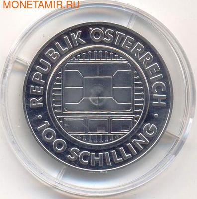 Миллениум - 2000. Австрия 100 шиллингов 2000. (фото, вид 1)