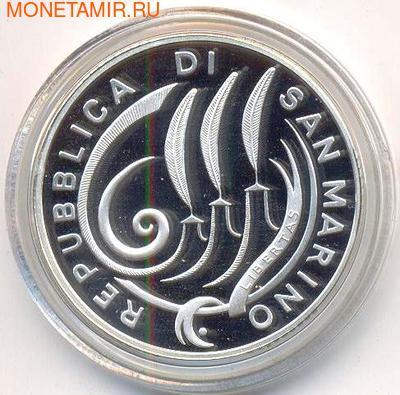 Экономический и валютный союз 1999-2009. Сан-Марино 10 евро 2009. (фото, вид 1)