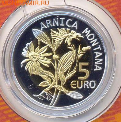Люксембург 5 евро 2010 Арника Флора и Фауна Люксембурга (Luxemburg 5 Euro 2010 Flower Arnica).Арт.000561648725/60 (фото, вид 1)