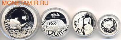 Южная Африка 85 центов 2010 Животные Парка Мира Набор 4 монеты (South Africa 85c 2010 Peace Parks 4 coin Prestige Set).Арт.001250033350/60 (фото, вид 2)