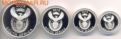 Южная Африка 85 центов 2010 Животные Парка Мира Набор 4 монеты (South Africa 85c 2010 Peace Parks 4 coin Prestige Set).Арт.001250033350/60 (фото, вид 3)