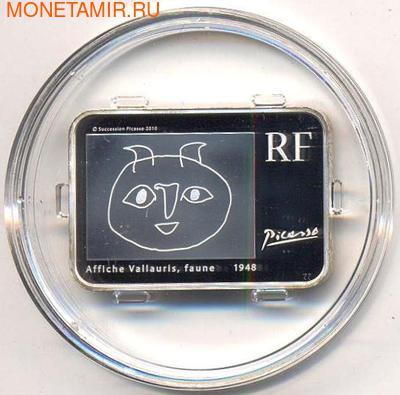 Франция 10 евро 2010. Пабло Пикассо. (фото, вид 1)