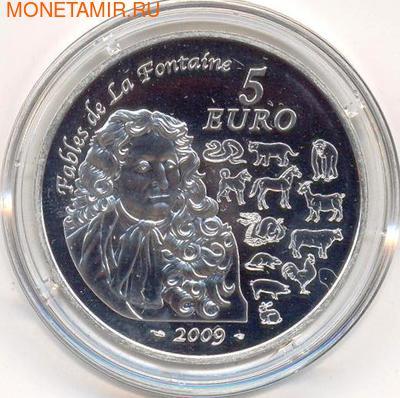 Франция 5 евро 2009. Год Быка. (фото, вид 1)