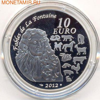 Франция 10 евро 2012. Год Дракона. (фото, вид 1)