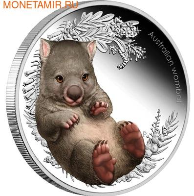 Австралия 50 центов 2013. Дети буша II- Вомбат. (фото, вид 1)
