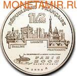 Франция 1 1/2 евро 2003. Прыжки в высоту. (фото, вид 1)