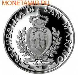 Сан-Марино 10 евро 2013. Никколо Макиавелли (фото, вид 1)