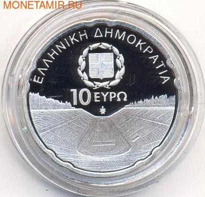 Греция 10 евро 2011. Паралимпийские игры. Стадион (фото, вид 1)
