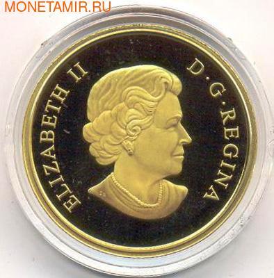 Канада 200 долларов 2010. Ванкувер. Первое золото (фото, вид 1)