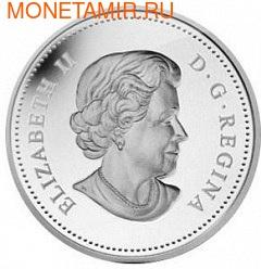 Канада 3 доллара 2013. Пчела и улей (фото, вид 1)
