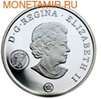 Канада 20 долларов 2007. Международный полярный год. (фото, вид 1)