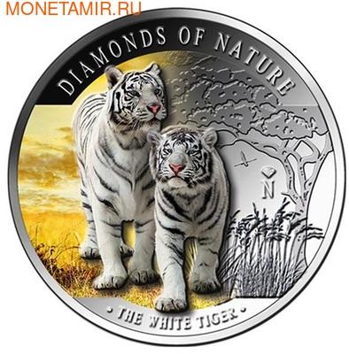 Фиджи 10 долларов 2012. Белые тигры. (фото, вид 1)