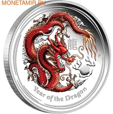 Австралия 50 центов 2012. Год Дракона. (фото, вид 1)