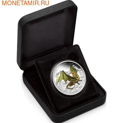 Тувалу 1 доллар 2013.Европейский зелёный дракон - Драконы из легенд.Арт.000326943248/60 (фото, вид 3)