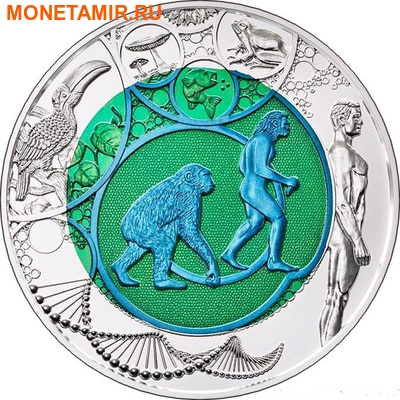 "Австрия 25 евро 2014. ""Эволюция"" (фото, вид 1)"