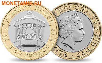 Великобритания Полный Годовой Набор 2014 (The 2014 UK Brilliant Uncirculated Annual Coin Set).Арт.60 (фото, вид 2)