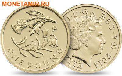 Великобритания Полный Годовой Набор 2014 (The 2014 UK Brilliant Uncirculated Annual Coin Set).Арт.60 (фото, вид 6)