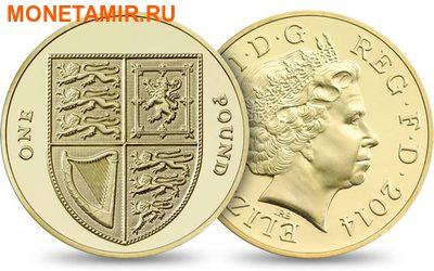 Великобритания Полный Годовой Набор 2014 (The 2014 UK Brilliant Uncirculated Annual Coin Set).Арт.60 (фото, вид 7)