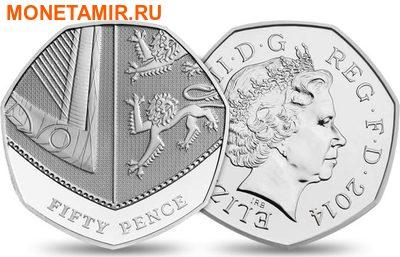 Великобритания Полный Годовой Набор 2014 (The 2014 UK Brilliant Uncirculated Annual Coin Set).Арт.60 (фото, вид 9)