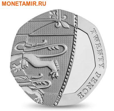Великобритания Полный Годовой Набор 2014 (The 2014 UK Brilliant Uncirculated Annual Coin Set).Арт.60 (фото, вид 10)