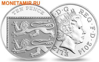 Великобритания Полный Годовой Набор 2014 (The 2014 UK Brilliant Uncirculated Annual Coin Set).Арт.60 (фото, вид 11)