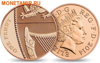 Великобритания Полный Годовой Набор 2014 (The 2014 UK Brilliant Uncirculated Annual Coin Set).Арт.60 (фото, вид 14)