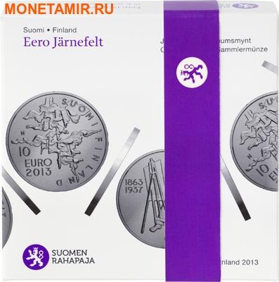 """Финляндия 10 евро 2013.""""Ээро Ярнефельт. 150 лет со дня рождения.""""Арт.000224245776 (фото, вид 2)"""