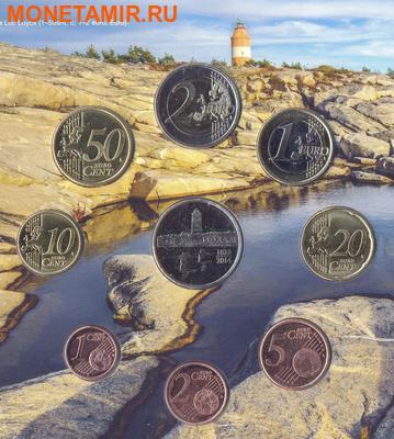 """Финляндия 2014.""""Годовой набор евро"""".Арт.000103946286 (фото, вид 2)"""