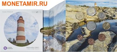 """Финляндия 2014.""""Годовой набор евро"""".Арт.000103946286 (фото, вид 3)"""