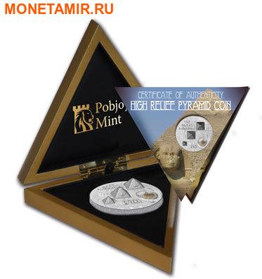 """Британские Виргинские Острова 10 долларов 2013.""""Великие Пирамиды""""-3D.Арт.000663046719 (фото, вид 3)"""