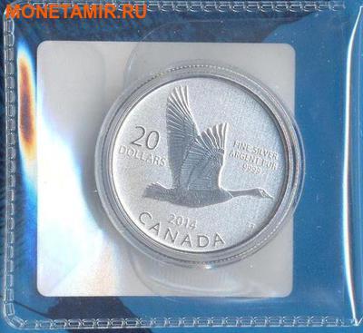 """Канада 20 долларов 2014.""""Гусь"""".Арт.000077846281/60 (фото, вид 3)"""