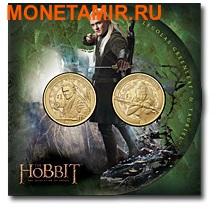 Новая Зеландия 1 доллар 2013. Набор из 2 никелевых монет. «Хоббит: Пустошь Смауга».Арт.000166346300 (фото, вид 1)