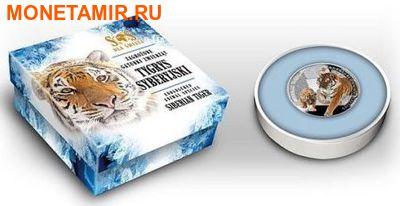 Ниуэ 1 доллар 2014. «Амурский Тигр» серии «Вымирающие виды животных».Арт.000332546327 (фото, вид 2)