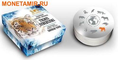 Ниуэ 1 доллар 2014. «Амурский Тигр» серии «Вымирающие виды животных».Арт.000332546327 (фото, вид 3)